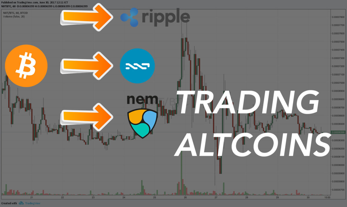 How to trade altcoins